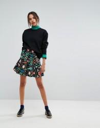 Essentiel Antwerp Obolary Short Skirt - Red