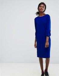Essentiel Antwerp Ochet Ruffle Dress - Blue