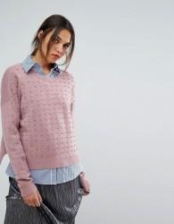 Essentiel Antwerp Olaketal Pearls Stones Sweater - Brown