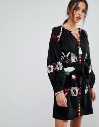 Essentiel Antwerp Ophism Long Sleeved Dress - Black