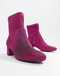 Essentiel Antwerp pink glitter boot - Pink