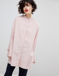 Essentiel Antwerp Purity Oversized Shirt - Pink