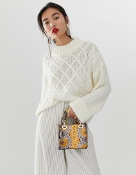 Essentiel Antwerp Sacramo round neck sweater - Cream