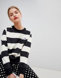 Essentiel Antwerp Striped Cloud Sweatshirt - Multi