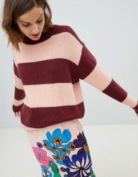 Essentiel Antwerp striped knitted jumper - Multi