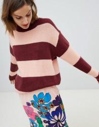 Essentiel Antwerp striped knitted jumper - Multi
