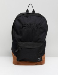 Etnies essential bag in black - Grey