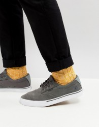 Etnies Jameson Vulc Trainer In Grey - Grey
