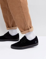 Etnies Jameson Vulc Trainers in Black - Black