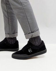 Etnies Marana Vulc Trainer In Black - Black