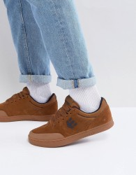 Etnies Marana x Michelin Trainers In Brown Gum - Brown