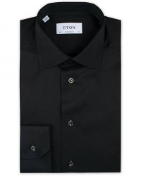 Eton Contemporary Fit Shirt Black