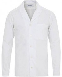 Eton Poplin Resort Shirt White