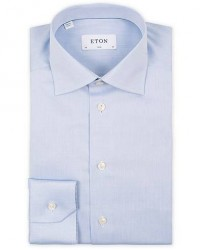 Eton Slim Fit Shirt Blue