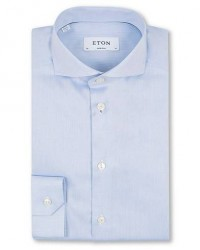 Eton Super Slim Fit Shirt Blue