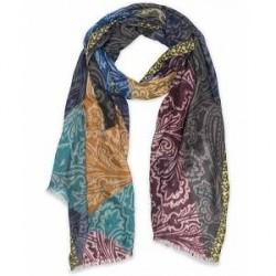 Etro Block Colour Cashmere Scarf Multi