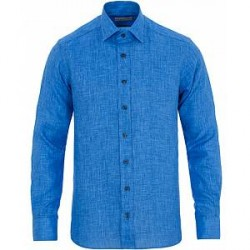 Etro Linen Shirt Blue