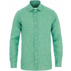 Etro Linen Shirt Green