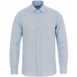 Etro Linen Shirt Light Blue