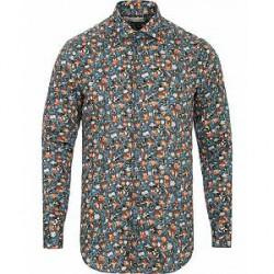 Etro Mercurio Flower Print Shirt Grey
