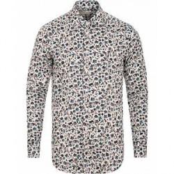 Etro Mercurio Flower Print Shirt White