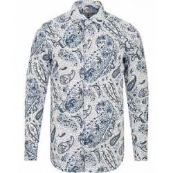 Etro Mercurio Paisley Shirt White