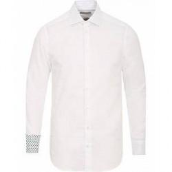 Etro Mercurio Plain Shirt Contrast White