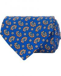 Etro Mini Paisley Silk 8 cm Tie Blue men One size Blå