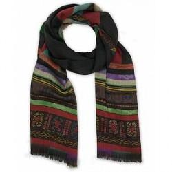 Etro Wool Paisley Delhy Scarf Multi