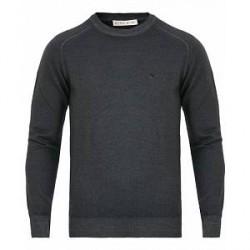 Etro Wool Vintage Crew Neck Grey