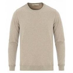 Etro Woven Paisley Crew Neck Sweater Grey