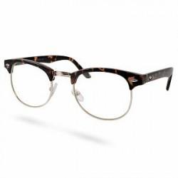 EverShade Brune/Guld Transparente Vintage Briller