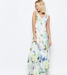 Every Cloud Machina Floral Maxi Dress - Multi