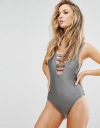 Evil Twin Misty Swimsuit - Grey