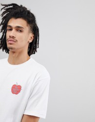 Fairplay Deli T-Shirt With Back Print In White - White