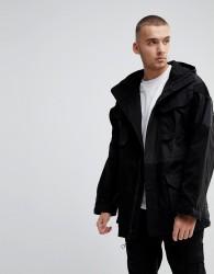 Fairplay Oversized Patchwork Jacket - Black