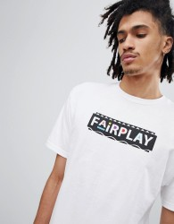 Fairplay Pam T-Shirt With Logo In White - White