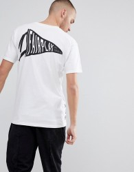 Fairplay T-Shirt With Banner Back Print - White