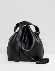 Faith Black Duffle Bag With Cross Body Bag - Red