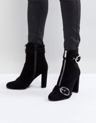 Faith Bowey Zip And Buckle Boots - Black