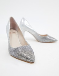 Faith Chariot court shoes in ombre multi glitter - Multi