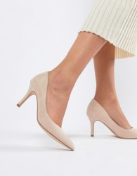Faith Chariot Heeled Court Shoes in light pink - Pink
