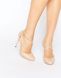 Faith Clara Strappy Heeled Shoes - Beige