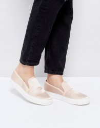 Faith Karlie Natural Slip On Trainers - Pink
