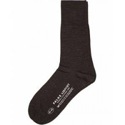 Falke Airport Socks Dark Brown Melange
