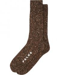 Falke Earth Boot Sock Brown