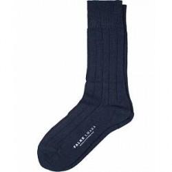 Falke Lhasa Cashmere Socks Dark Navy