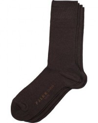Falke Swing 2-Pack Socks Brown men 43-46 Brun