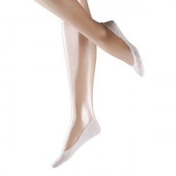 Falke Women Invisible Cotton Step - White * Kampagne *