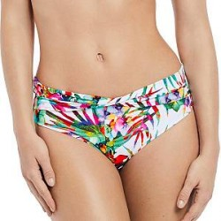 Fantasie Margarita Island Classic Twist Brief - White Pattern-2 - Large * Kampagne *